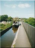 SJ2742 : Pontcysyllte Aqueduct, Llangollen Canal (1997) by Graham Hogg