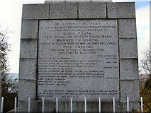 TQ4210 : Martyrs' Memorial Inscription by Paul Gillett