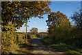 SU9287 : Green Common Lane, Wooburn Common by Rob Rogers