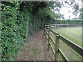 TL6759 : Footpath to Saxon Street by Hugh Venables