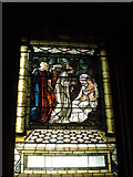SE7170 : Stained Glass window in the chapel at Castle Howard, 3 of 3 by hayley green