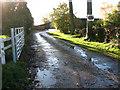 TM2687 : Entrance to Moat Farm, Alburgh by Evelyn Simak