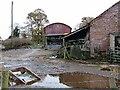 NY4464 : Farmyard at Brownrigg Farm by Oliver Dixon