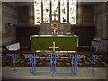 NU2322 : Holy Trinity, Embleton, Altar by Alexander P Kapp