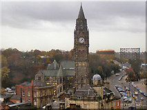 SD8913 : Rochdale Town Hall by David Dixon