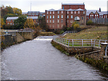 SD8913 : River Roch, Rochdale by David Dixon