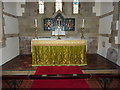 NU2415 : The Parish Church of St Peter and St Paul, Longhoughton, Altar by Alexander P Kapp