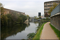 TQ3882 : Limehouse Cut by David Kemp