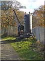 SD7606 : Mount Sion Steam Crane; Manchester, Bolton & Bury Canal by David Dixon