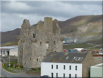 HU4039 : Scalloway Castle from the dock by Martyn Downs