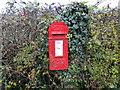 TM2890 : GR letterbox by Adrian S Pye