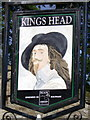 SD9772 : Sign for the Kings Head by Maigheach-gheal