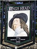 SD9772 : Sign for the Kings Head by Maigheach-gheal