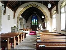 SD9772 : Interior, St Mary's Church by Maigheach-gheal