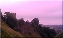 SK1482 : Peveril Castle and Cave Dale by Ashley Dace