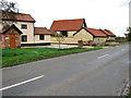TM0988 : Heath Road past Heath Road Farm by Evelyn Simak