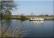TG2608 : Pleasure boat on the River Yare by Sandy B
