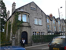 SJ0566 : Stone town house, Denbigh by Eirian Evans