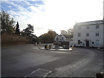 TQ1667 : Roundabout Thames Ditton by Stacey Harris