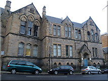 NT2572 : Former Warrender Park School, Marchmont Crescent by kim traynor