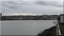 TQ7568 : River Medway and Chatham by David Anstiss