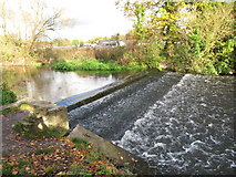 TQ0481 : Weir on the River Colne by David Hawgood