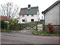 TM1193 : Grove Farm (farmhouse) Bunwell by Evelyn Simak