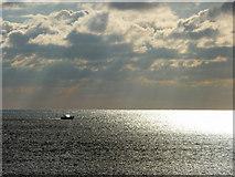 TQ3103 : Lone Boat, Brighton, East Sussex by Christine Matthews