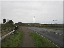 TR1437 : A20 Ashford Road bridge over the M20 Motorway by David Anstiss
