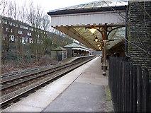 SD9926 : Hebden Bridge Railway Station by Alexander P Kapp