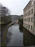 SD9927 : Rochdale Canal, Hebden Bridge by Alexander P Kapp