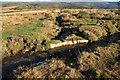 SX6870 : Bull's-eye stone on Holne Town Gutter by Guy Wareham
