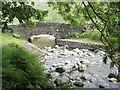 NY1606 : Netherbeck Bridge near Wastwater by Chris Worsley