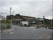 SD5095 : Entrance to James Cropper, Burneside Mills, Burneside by Alexander P Kapp