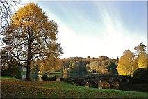 ST7733 : Stourhead Gardens: The Palladian Bridge by Mr Eugene Birchall