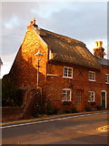 SZ1592 : Christchurch: thatched cottage in Church Lane by Chris Downer