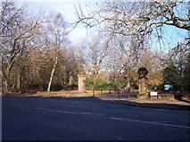 SJ3787 : Pedestrian entrance to Sefton Park by Raymond Knapman