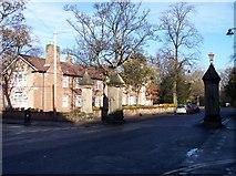 SJ3787 : Lark Lane gate pillars by Raymond Knapman