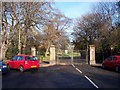 SJ3687 : Entrance to Prince's Park from Belvidere road by Raymond Knapman