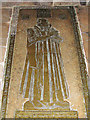 TL5480 : Ely Cathedral - monument in choir aisle by Evelyn Simak