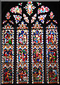 TL5480 : Ely Cathedral - stained glass window by Evelyn Simak