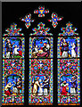 TL5480 : Ely Cathedral - Victorian stained glass by Evelyn Simak