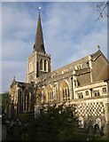 TQ2471 : St Mary's church, Wimbledon by Derek Harper