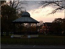 SZ1592 : Christchurch: the bandstand by Chris Downer