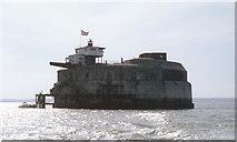 SZ6397 : Spitsand Fort by Alexander P Kapp