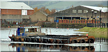 J3473 : Dredging the River Lagan, Belfast -  2010/11 (66) by Albert Bridge