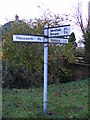 TM3780 : Roadsign on Wash Lane by Adrian Cable