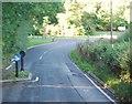 TQ6736 : Traffic calming, B2162, Lamberhurst by N Chadwick