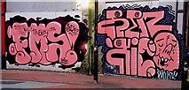 J3374 : Lower Garfield Street, Belfast 2010-6 by Albert Bridge