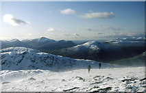 NN3835 : Heading from Creag Mhòr to Stob nan Clach by Russel Wills